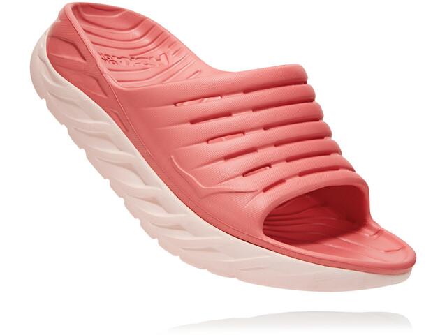 Hoka One One Ora Recovery Slide Sandaalit Naiset, lantana/pink salt